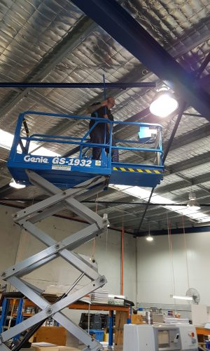 Compressed Air Pipework Installation.