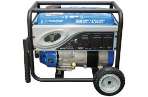 Westinghouse Utility Series Portable Electric Generator Maximum Power3,750 Watts Maximum Output4.7 kVA Engine208 cc, 4-Stroke, Petrol