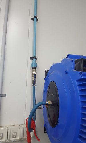 installation of food grade hose and pipework