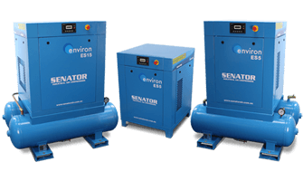 es-series-suited for small-to-medium industrial applications with heavy compressed air demand and working pressure of up to 10 bar