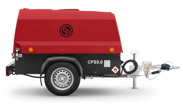 diesel portable air compressor for hire