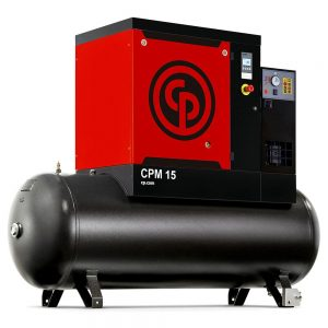 CPM 15 Full Feature Screw Compressor - Tank and Dryer